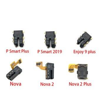 Nuevo para Huawei Nova 2 Plus 3 3i 4e 5i Pro P Smart Plus 2019 auricular conector de Audio pieza de reparación