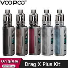 VOOPOO arrastrar X Plus Pod Kit 100W Vape 5,5 ml TPP Pod cartucho TPP DM1 DM2 cigarrillo electrónico vaporizador Fit 21700 batería 18650