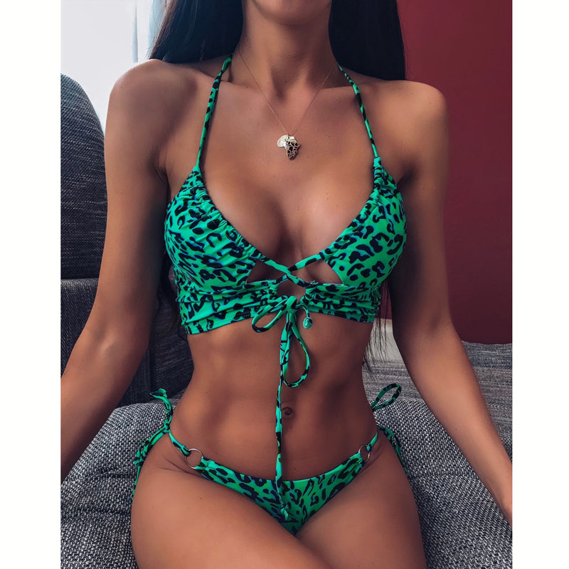 DJ322203-Women Sexy Bikini High Waist Swimsuit