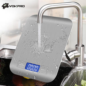 Weighing-Scale Balance-Measuring-Tool Food-Diet Postal Stainless-Steel LCD LB/G