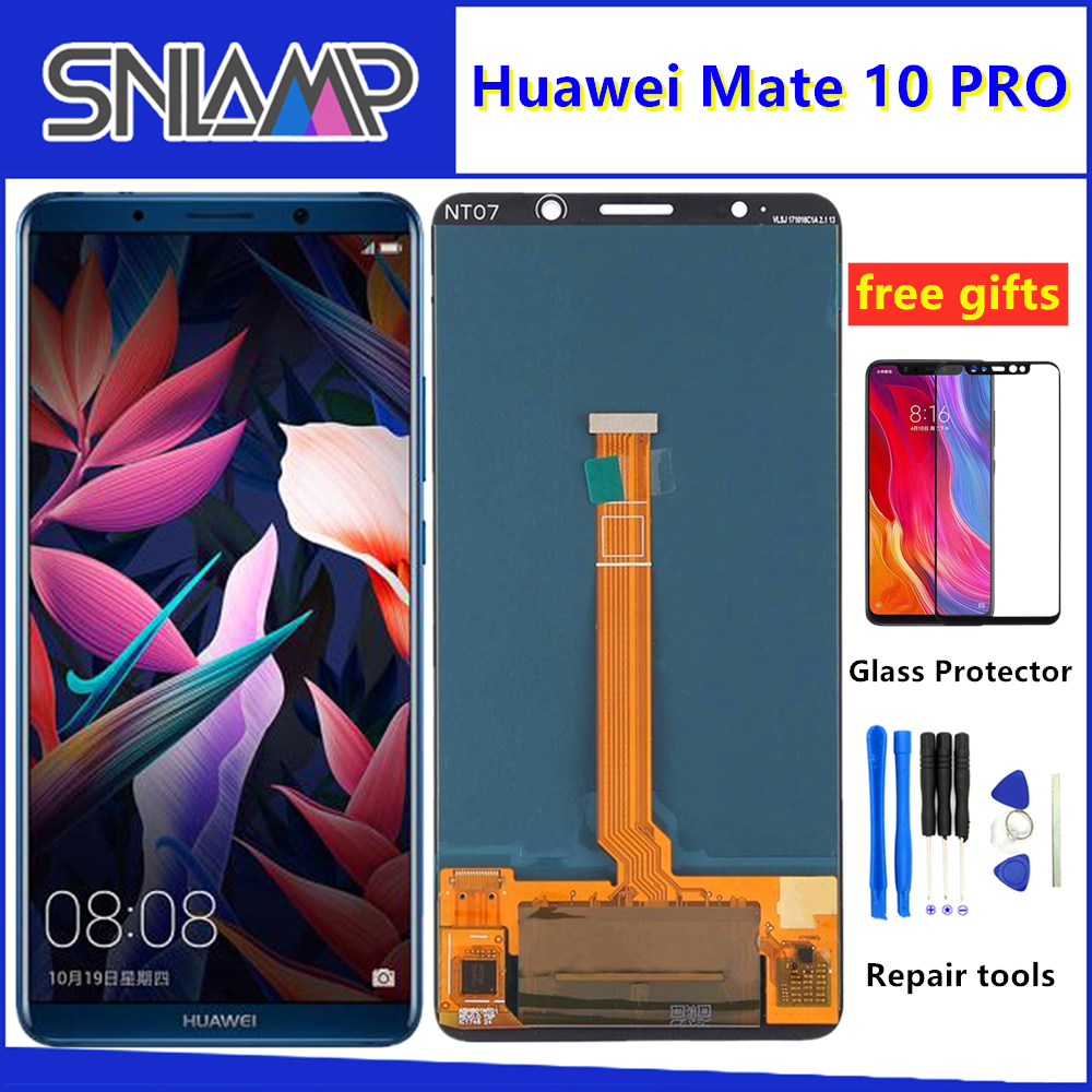 6.0 For Huawei Mate 10 Pro LCD Display Touch Screen Digitizer Assembly With Frame For Mate 10Pro BLA-L09 BLA-L29 LCD Screen