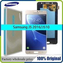 BAN ĐẦU 5.2 SUPER AMOLED LCD dành cho SAMSUNG Galaxy SAMSUNG Galaxy J5 2016 Màn Hình J510 J510F J510FN J510M Bộ Số Hóa Cảm Ứng