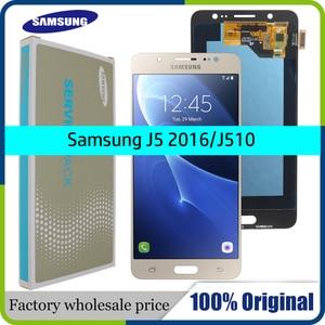 Image 1 - ORIGINAL 5.2 SUPER AMOLED LCD for SAMSUNG Galaxy J5 2016 Display J510 J510F J510FN J510M Touch Screen Digitizer Assembly