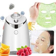 Voz inteligente máquina de máscara de frutas em casa diy caseiro frutas vegetais máscara facial instrumento auto-feito dispositivos de beleza
