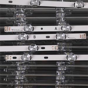 Image 3 - Nouveau 10 Pièces/ensemble LED bande de rétro éclairage De Remplacement pour LG 50LB650V Innotek DRT 3.0 50 B 6916L 1736A 1735A 1978A 1979A LC500DUE