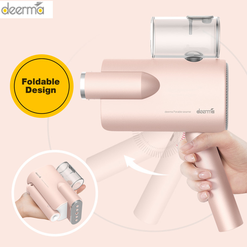 2019 New Deerma 220v Handheld Garment Steamer Household Portable Steam Iron Clothes Brushes For Home Appliances