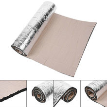 Car Door Chassis Sound Proofing Deadening Foam Insulation Heat Pad Mat Shield(China)