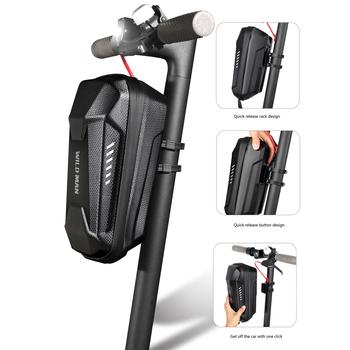 Dziki człowiek torba na rower elektryczny skuter deskorolka EVA pancerne etui torba na M365 Pro sprzęt kolarski tanie i dobre opinie WILD MAN CN (pochodzenie) NYLON Bryzgoodporna Electric