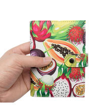 2020 neue Braune Ratte Bunte Pass Clip Schnalle Passport Rose Blume Ticket Halter Multi-karte Floral Cartoon Passport Abdeckung tasche