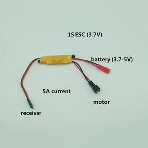 Image 1 - 1S 2S 3S マイクロ双方向ブラシ Esc スピードコントローラ 3.5 4.8V 2A 5A rc ミニタンク車ボート飛行機 130/280/370 モーター部品