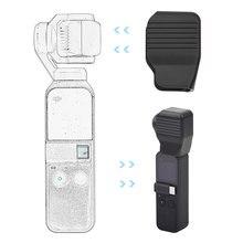 Cubierta de lente antiarañazos para DJI OSMO Pocket, Protector de soporte estabilizador de cámara de mano para DJI Pocket 2, accesorio a prueba de polvo