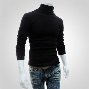 Sweater Pullover Jumper Top-Turtleneck Trend Autumn High-Neck Winter Casual Fashion Cotton