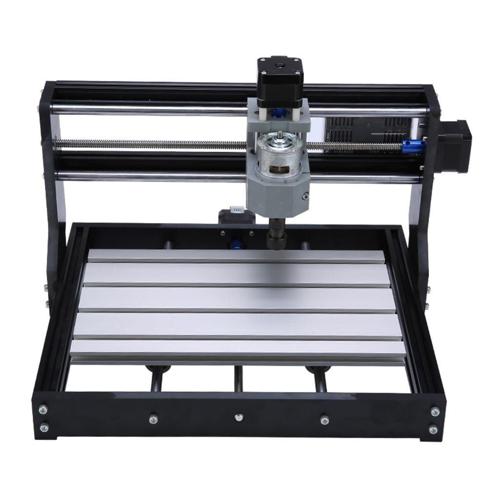 Фрезерный станок с ЧПУ CNC3018 2 в 1, лазерный гравер GRBL, литье под давлением, 10 Вт, лазерный гравировальный станок с ЧПУ 3018, инструмент для маркир...