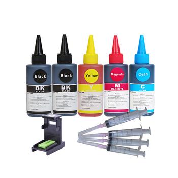 Befon 100ml wkłady do drukarek atramentowych zamiennik do wkładów atramentowych HP Brother Canon Lexmark Ricoh i systemów CISS tanie i dobre opinie CN (pochodzenie) 100ml Universal Ink Kits Zestaw do napełniania atramentem Refill Ink Kit 100ml bottle Black Tri-color C Y M