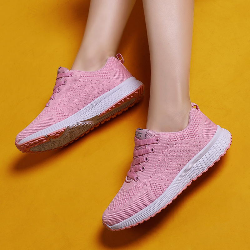 Damyuan Lightweight Women's Sneakers 2020 Summer new Running Shoes Outdoor Sports Shoes Breathable Mesh Shoes Comfortable Shoes