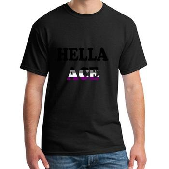 Graphic Hella Ace t shirt for men and women cotton Breathable Leisure male female t-shirts O Neck top tee