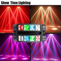 Шоу время дискотечный светодиод светодиодное освещение для дискотек луч паук со вращающейся головой свет хорошее использование для вечерн...