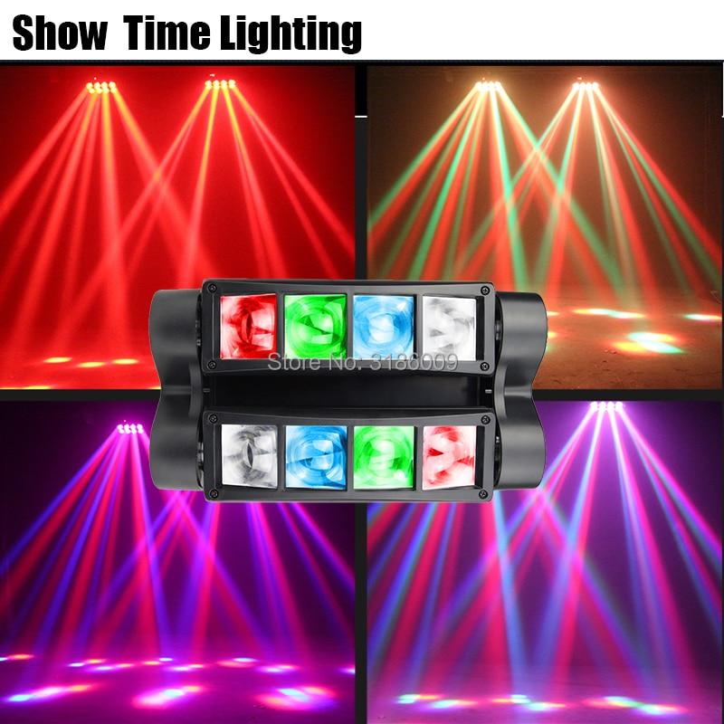 Show Time Disco Led Dj Light Led Beam Spider Moving Head Light Good Use For Party KTV Bar Show Home Entertainment Dance