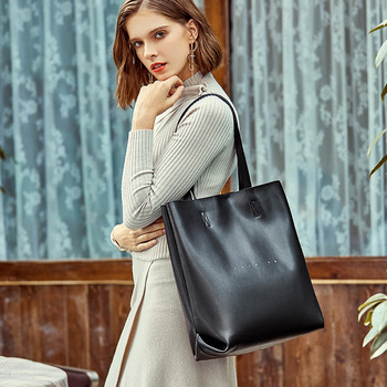 MODITIN New Arrival High Quality Leather Tote bag for Women Handbag Shoulder Bag Casual Style Girls Best Fashion Cool Bucket Bag