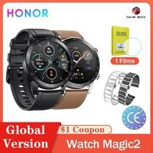 Honor – montre connectée Magic 2/Magic 1, GPS, 46mm, NFC, Bluetooth 5.1, oxygène sanguin, lecture de musique, fonctionne, 14 jours d'autonomie