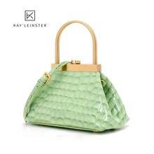 Сумки для женщин ручная сумка через плечо Золотая модная маленькая