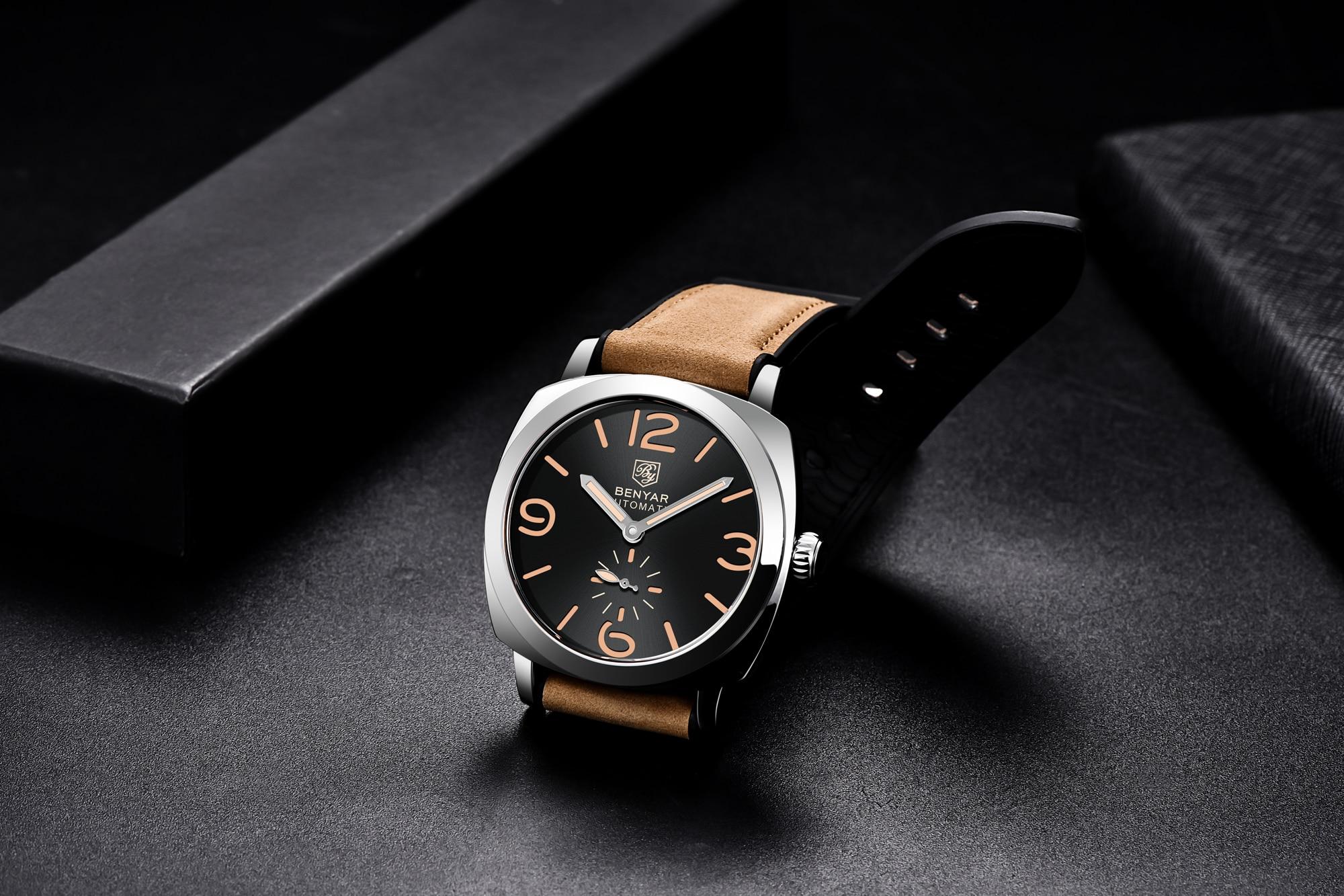 Benyar Design BY-5174M Brown Silver Black