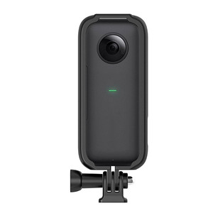Image 3 - מגן מסגרת גבול קסדת אופנוע סוגר עבור Insta 360 אחד X מצלמה אביזרי הר מסגרת מחזיק לgopro ממשק