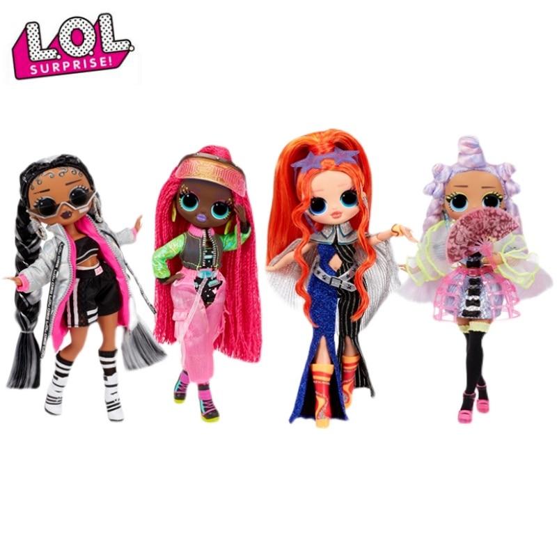 Original Lol Surprise Doll OMG Big Sister New Dance Series Creative Dress Up Princess Doll Girl Fashion Toy Lol Dolls