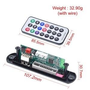 Image 3 - TZT nouvelle arrivée sans fil Bluetooth 12V MP3 WMA décodeur carte Module Audio USB TF Radio pour accessoires de voiture