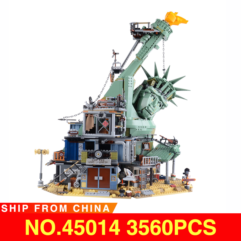 45014 LegoEAS Movie Series Welcome to APOCALYPSEBURG <font><b>70840</b></font> Set Model Building Kit Blocks Bricks Adult Assembly Kids Toys Gifts image