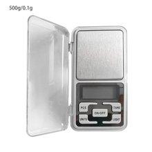 Точный весы для драгоценных камней, мини электронные весы Кухня весом инструмент ЖК-дисплей Дисплей Подсветка весы 100g/200g/500g 0,01g/0,1g