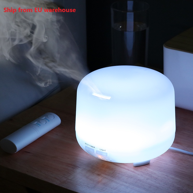 USB Ultrasonic Air Aroma Humidifier With 7 Color Lights Electric Aromatherapy Essential Oil Aroma Diffuser Remote Control