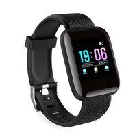 116 mais pulseira inteligente d13 esportes pulseira de fitness d18 inteligente pedômetro smartband relógio Relógios femininos     -