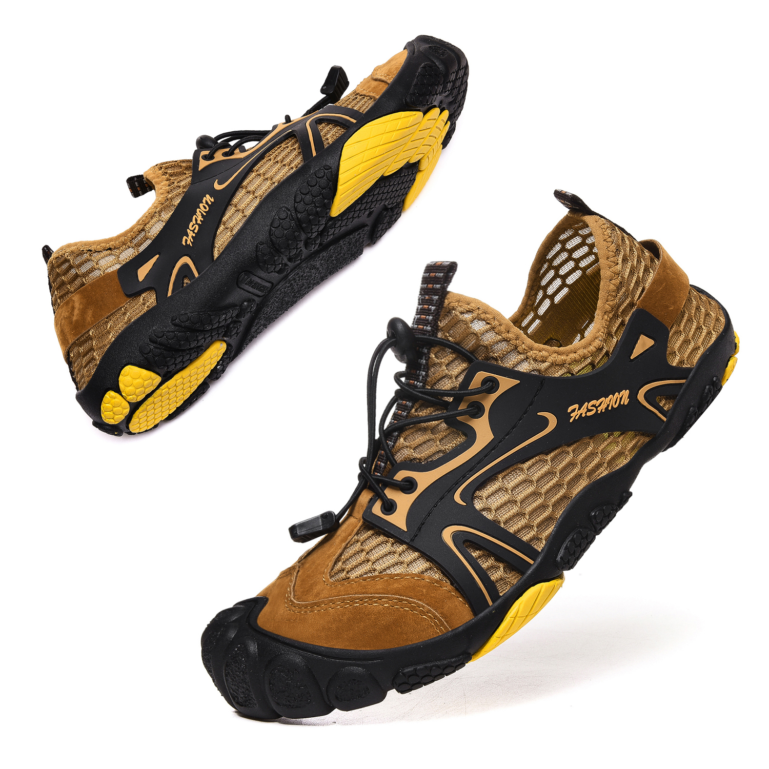 Summer breathable and durable hiking shoes upstream wading shoes outdoor sports shoes upstream large size 46