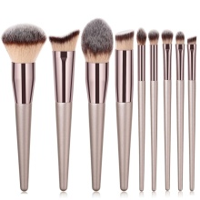 1Pcs Multifunction Makeup Brushes Champagne Gold  Eyeshadow Brush Eyebrow Foundation Concealer Tools
