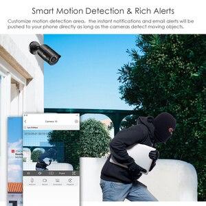 Image 4 - ZOSI 5MP CCTV חיצוני Nightvision IP אבטחת מצלמות מעקב וידאו אבטחת מצלמה מערכת POE H.265 8CH NVR ערכת HDD