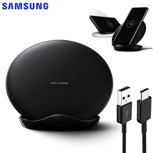 Original Samsung Wireless Charger EP-5100 Fast Charger For S9 Plus G9650 S10+ Galaxy S9 G9600 S8 Plus S10 Note 10 Note 9 Note 8 все цены