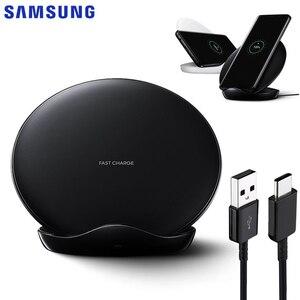 Image 1 - Samsung cargador inalámbrico Original EP 5100 para móvil, Cargador rápido para Galaxy S9, G9600, Note 10, Note 9, Note 8, S9 Plus, G9650, S10 +, S8 Plus, S10