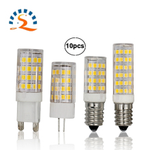 G4 G9 E12 E14 LED Light Bulb 5W 7W 110V 220V Corn bulb warm white COB SMD2835 replace Halogen Spotlight Chandelier