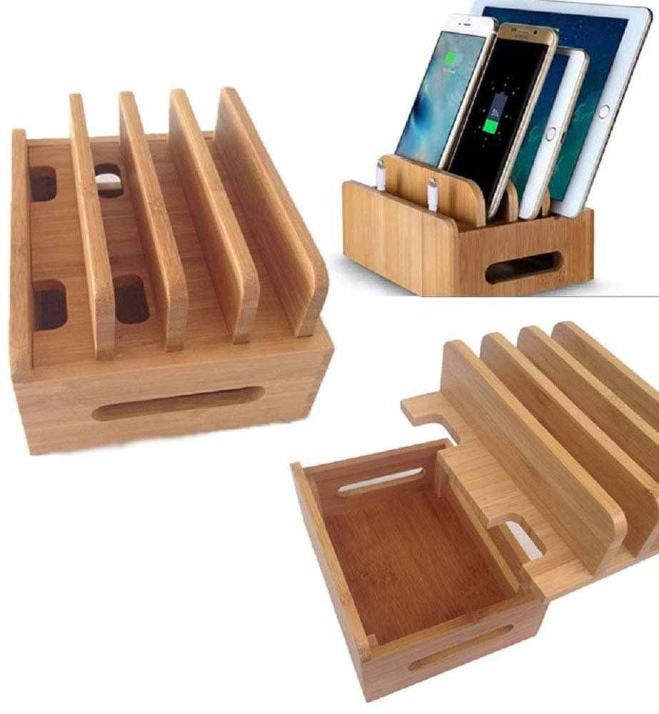 Bamboo Docking Station Wooden Desktop Organizer Charging Stations For Multiple Devices Phone Tablet Bamboo Charging Stations Aliexpress,Joanna Gaines Shiplap Wallpaper Reviews