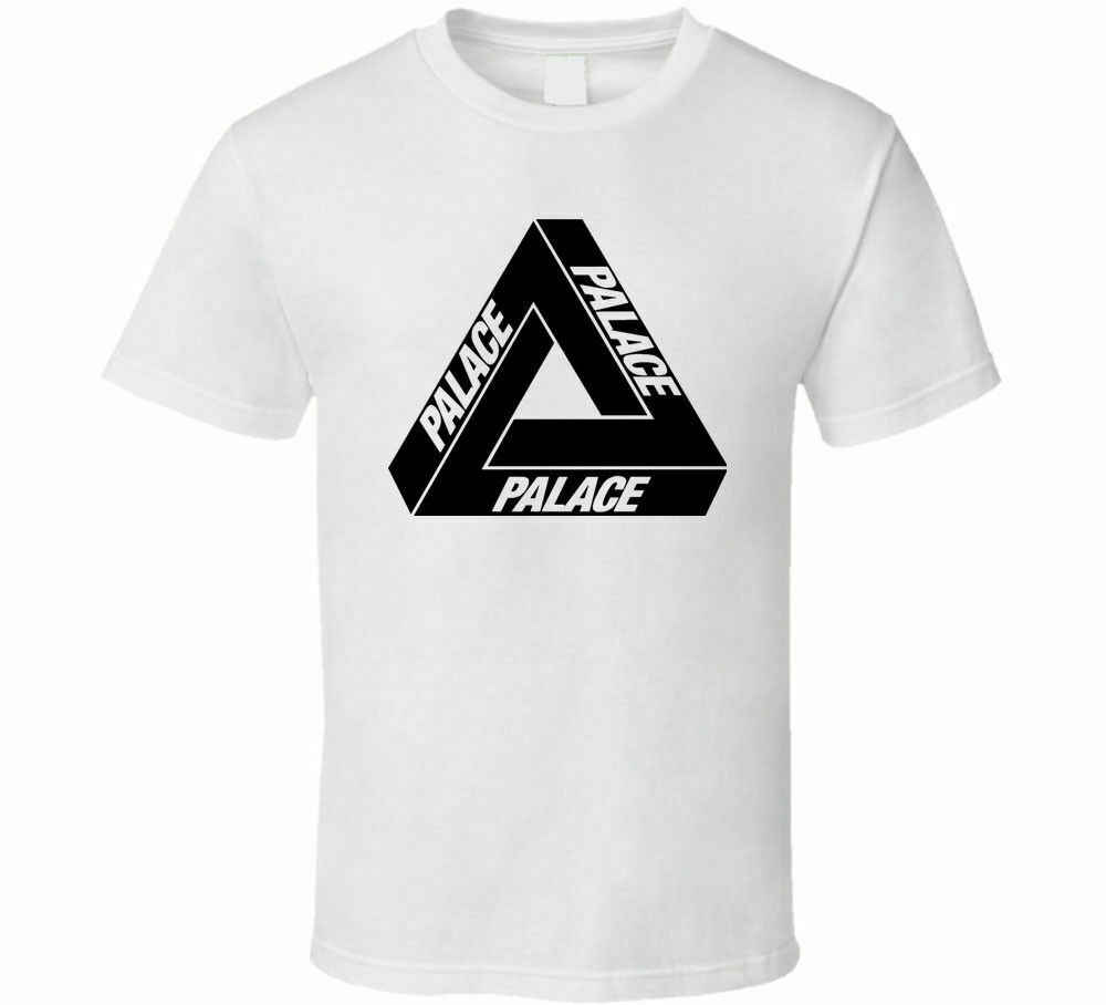 New Streetwear Palaca Skateboard Ultimo Herren Hemd Schwarz Weiß T-shirt Männer Freies Verschiffen Neue Mode Männer Frauen Größe S-3Xl