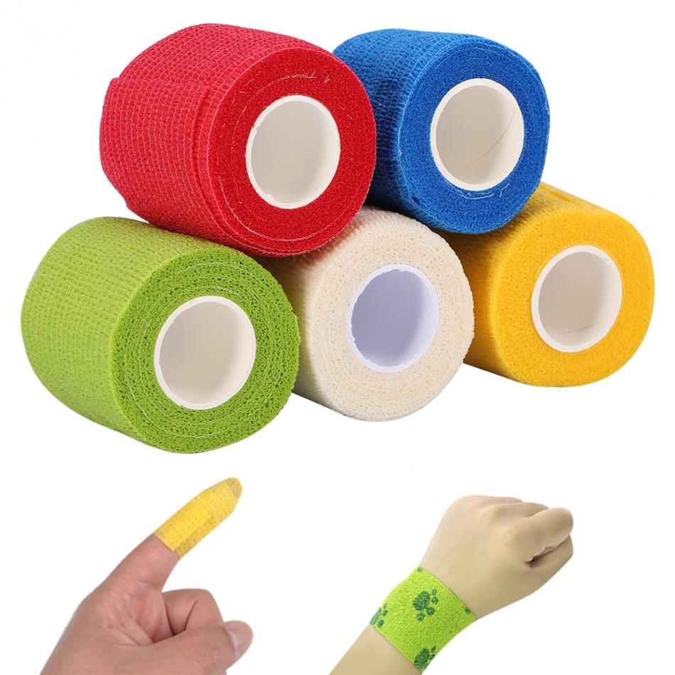Pro Non-woven Fabric Self-adhesive Elastic Tattoo Bandage Sport Binding Joints Support Protect Wrap Nail Tape Tattoo Accessories