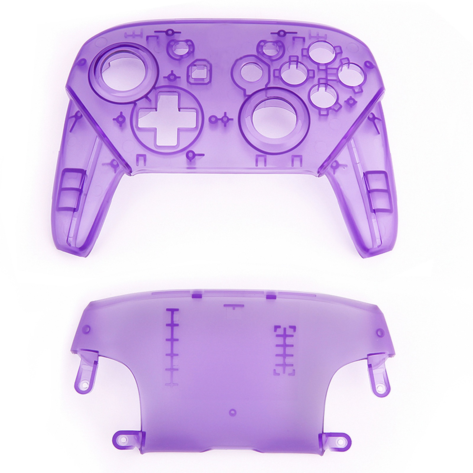 Image 5 - For Nintendo Switch Pro Controller Replaceable Transparent Shell DIY Modified Shell Third Party Replacement Buttons Handle Cover-in Replacement Parts & Accessories from Consumer Electronics