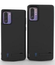 5000/6000mAh shockproof di Caso Del Caricabatteria Per Samsung Galaxy Note 10 Più USB Accumulatori e caricabatterie di riserva Case Esteso La Staffa Della Batteria copertura