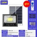 90 до 20 светодиодный солнечный светильник удаленный контроль Солнечный светодиодный Мощность прожектор настенный светильник Водонепрониц...