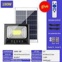 90-20 diodo emissor de luz solar remoto contro energia solar led luz de parede de inundação à prova dwaterproof água jardim ao ar livre lâmpada solar de segurança com linha de 5m