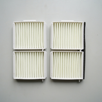 2Pcs Car Cabin Filter for 1999-2005 Mazda 323 F 323 S 626 V PREMACY 1.9 2.0 GE6T-61-J6X image