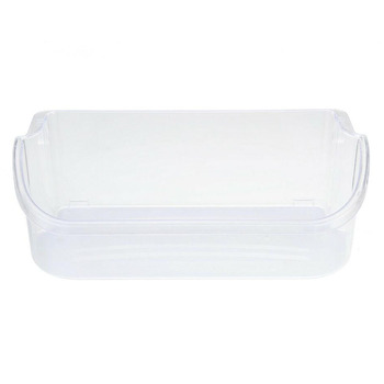 Refrigerator Gallon Door Bin Shelf Transparent Refrigerator Storage Box Bin Shelf for Frigidaire 240356402 AP2549958 PS430122