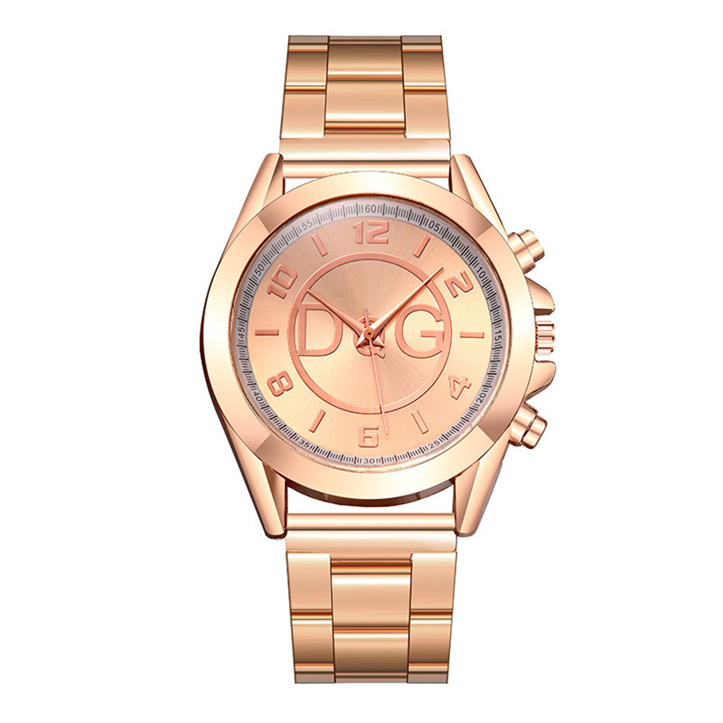 Luxury Women Watches Scale Dial Ladies Analog Quartz Wristwatch DesignRose Gold Alloy Strap Simple Clock Dress Montre Femme@50
