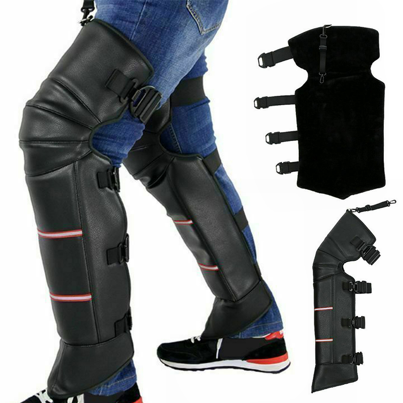 Newly 1 Pair Anti-wind Warm Motorcycle Knee Cover Thicken For Women Men Winter Outdoor VK-ING